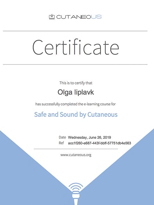 Certificaat echo fillers